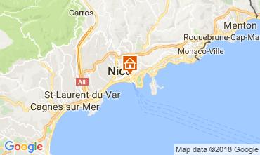Mapa Nice Apartamentos 114380