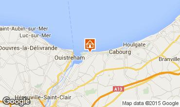 Mapa Cabourg Apartamentos 98720