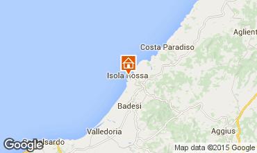 Mapa Isola Rossa Apartamentos 61212