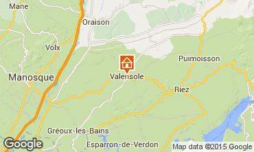 Mapa Valensole Vivenda 94865