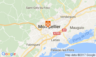 Mapa Montpellier Casa 111032