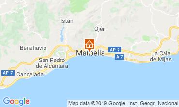 Mapa Marbelha Apartamentos 119630