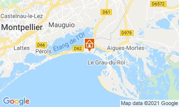 Mapa La Grande Motte Apartamentos 114897