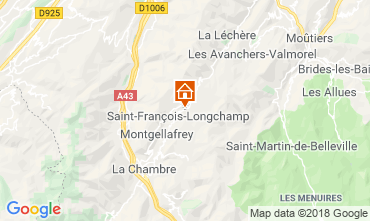 Mapa Saint François Longchamp Chalé 117215