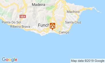 Mapa Funchal Apartamentos 58610