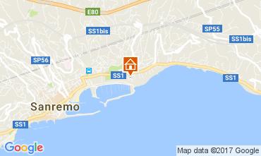 Mapa Sanremo Bungalow 48673