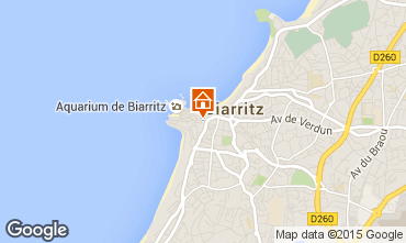 Mapa Biarritz Apartamentos 74751