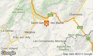 Mapa Megève Chalé 16662