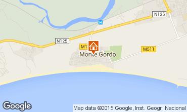 Mapa Monte Gordo Apartamentos 94342