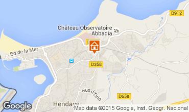 Mapa Hendaye Apartamentos 15735