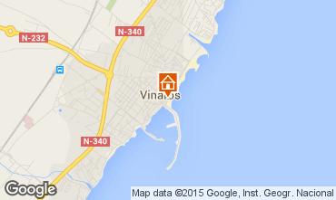 Mapa Vinar�s Apartamentos 85109