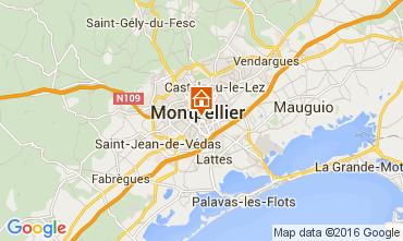 Mapa Montpellier Apartamentos 104594
