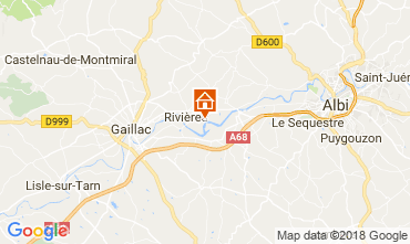 Mapa Albi Casa 113861