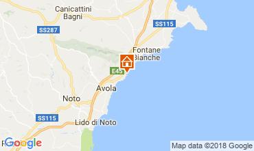 Mapa Avola Vivenda 16981