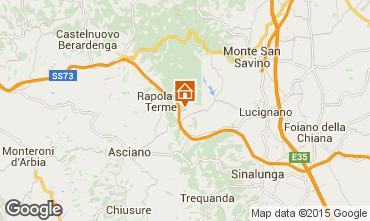 Mapa Rapolano Terme Apartamentos 69682