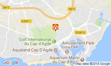Mapa Cap d'Agde Apartamentos 113359