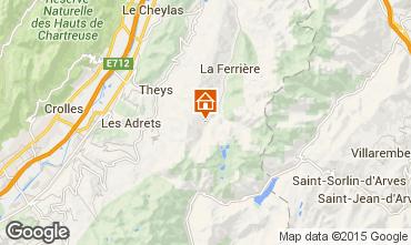 Mapa Les Sept Laux Apartamentos 40301