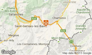 Mapa Chamonix Mont-Blanc Chal� 27606