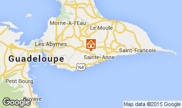 Mapa Sainte Anne (Guadalupe) Casa de turismo rural/Casa de campo 60117