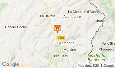 Mapa Morzine Chalé 101488