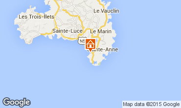Mapa Sainte Anne (Martinique) Estúdio 93994