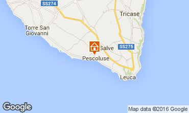 Mapa Pescoluse Alojamento insólito/Moradia atípica  103154