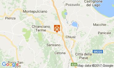 Mapa Chianciano Terme Vivenda 111227
