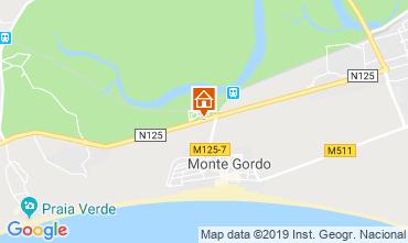 Mapa Monte Gordo Casa 120007