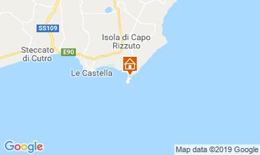 Mapa Isola di Capo Rizzuto Apartamentos 29262