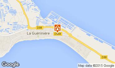 Mapa Noirmoutier en l'Île Vivenda 7202