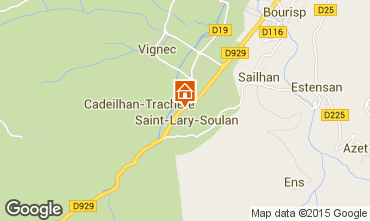 Mapa Saint Lary Soulan Chalé 102169