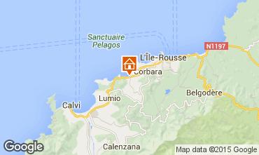 Mapa Location Ile Rousse Apartamentos 87256