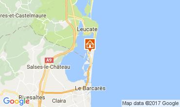 Mapa Port Leucate Apartamentos 108993