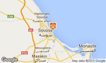 Mapa Sousse Apartamentos 25792
