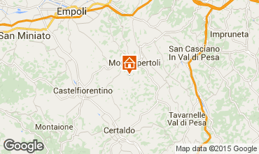 Mapa Montespertoli Apartamentos 74504