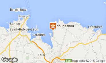 Mapa Plougasnou Casa 53936