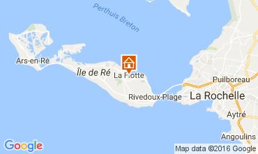 Mapa La Flotte en Ré Casa 106733