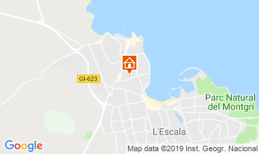 Mapa L'escala Apartamentos 24682