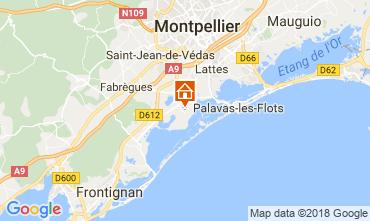 Mapa Villeneuve-Les-Maguelone Apartamentos 43728