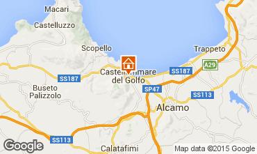 Mapa Castellammare del Golfo Apartamentos 69495
