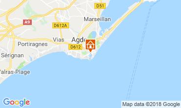 Mapa Cap d'Agde Estúdio 117600