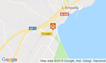Mapa L'ampolla Casa 118389