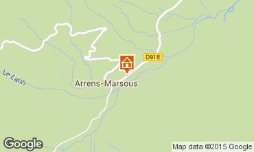 Mapa Val d'Azun Casa de turismo rural/Casa de campo 94834