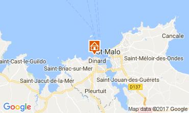 Mapa Dinard Alojamento insólito/Moradia atípica  111904