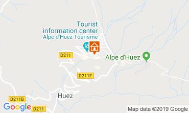 Mapa Alpe d'Huez Estúdio 112804