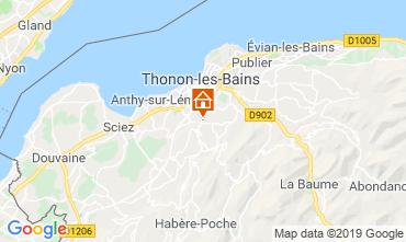 Mapa Thonon Les Bains Apartamentos 113619