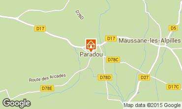 Mapa Maussane les Alpilles Casa de turismo rural/Casa de campo 97000