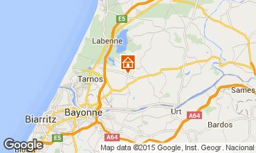 Mapa Biarritz Vivenda 93653