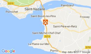 Mapa Saint Brevin les Pins Mobil Home 112559