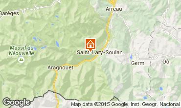 Mapa Saint Lary Soulan Est�dio 38348